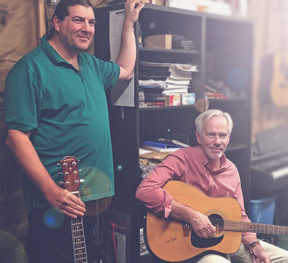 Monty Craig & Chuck Burgess student